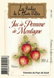 Le jus de pomme de montagne